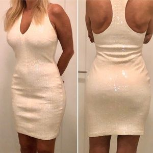 💥Sexy Sequined T-back Dress